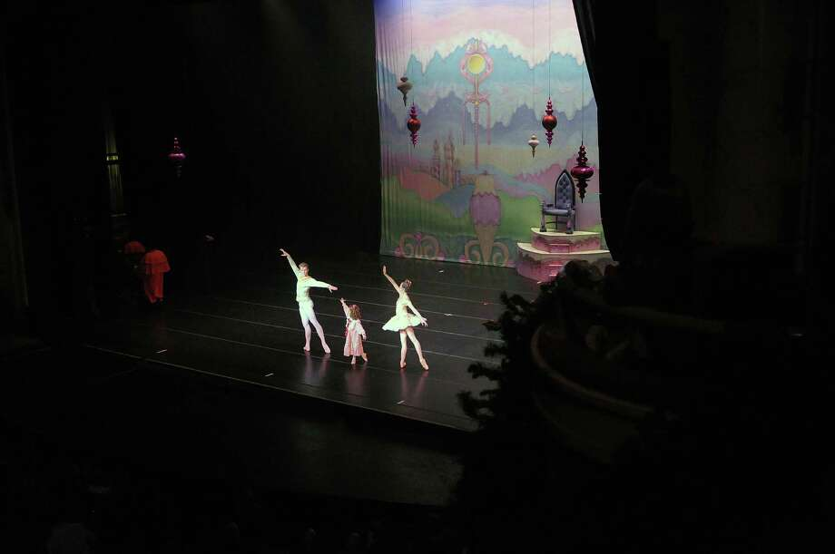 dancers perform during the Northeast Ballet Company's 120th anniversary production of the The Nutcracker Ballet at Proctors on Sunday, Dec. 9, 2012 in Schenectady, NY.  (Paul Buckowski / Times Union) Photo: Paul Buckowski