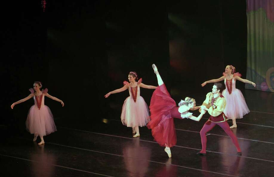 dancers perform during the Northeast Ballet Company's 120th anniversary production of the The Nutcra