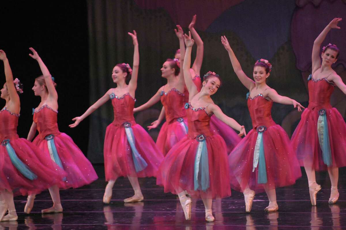 dancers perform during the Northeast Ballet Company's 120th anniversary production of the The Nutcracker Ballet at Proctors on Sunday, Dec. 9, 2012 in Schenectady, NY. (Paul Buckowski / Times Union)