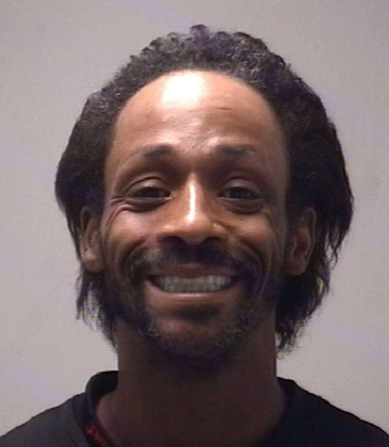 FILE - This file photo provided by the Coweta County Sheriff Dept. shows comedian and rapper Katt Williams after his Nov. 8, 2009 arrest in Newnan, Ga. The Sacramento Bee reports that Williams was arrested Friday night Dec. 7, 2012 in Dunnigan, Calif., on a felony warrant related to a police chase. The California Highway Patrol says Williams fled officers on a three-wheeled motorcycle on Nov. 25 after being spotted driving on a downtown Sacramento sidewalk. (AP Photo/Coweta County Sheriff Dept.) Photo: Coweta County Sheriff Dept.
