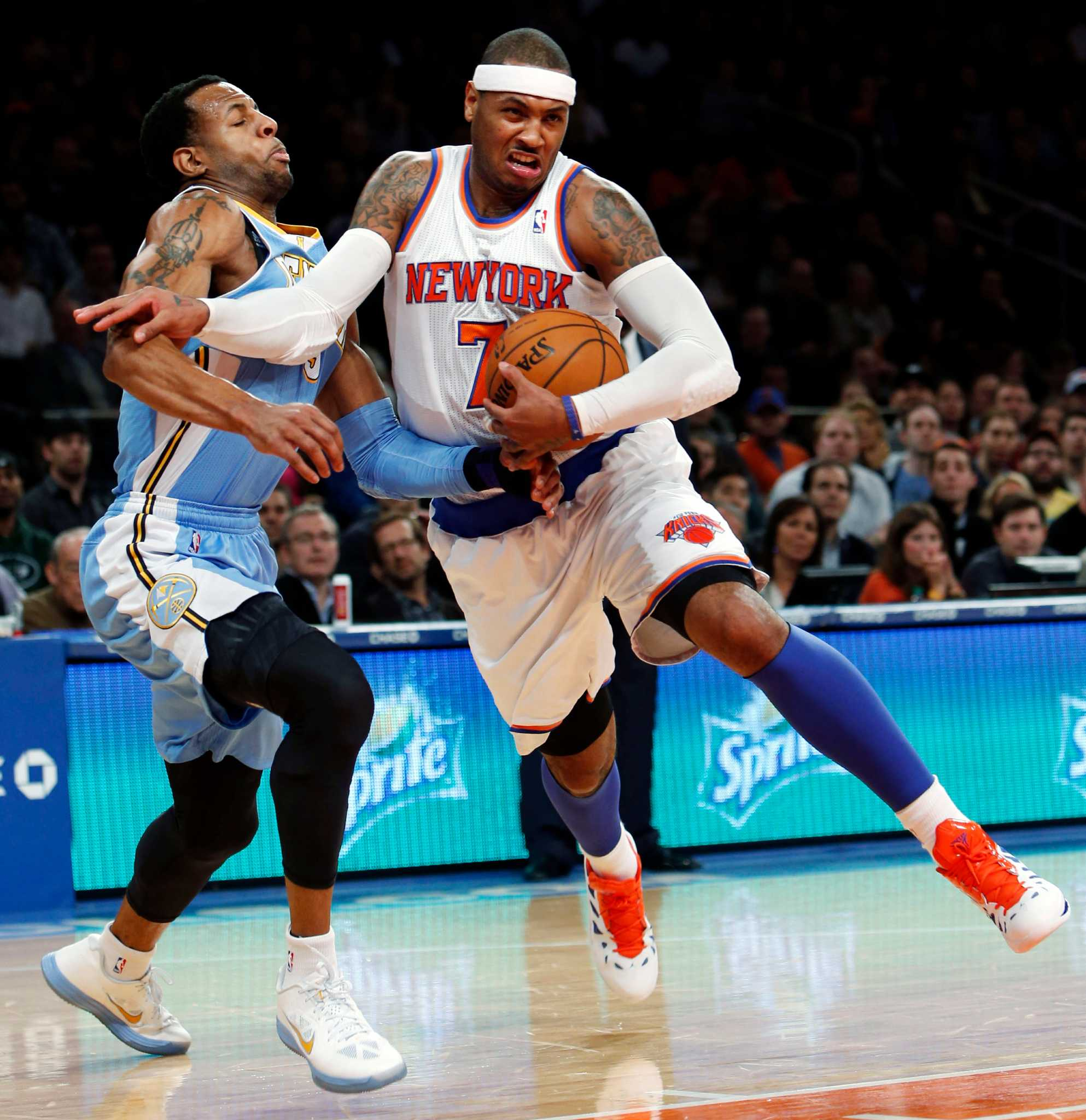 Carmelo's Return Sparks Knicks