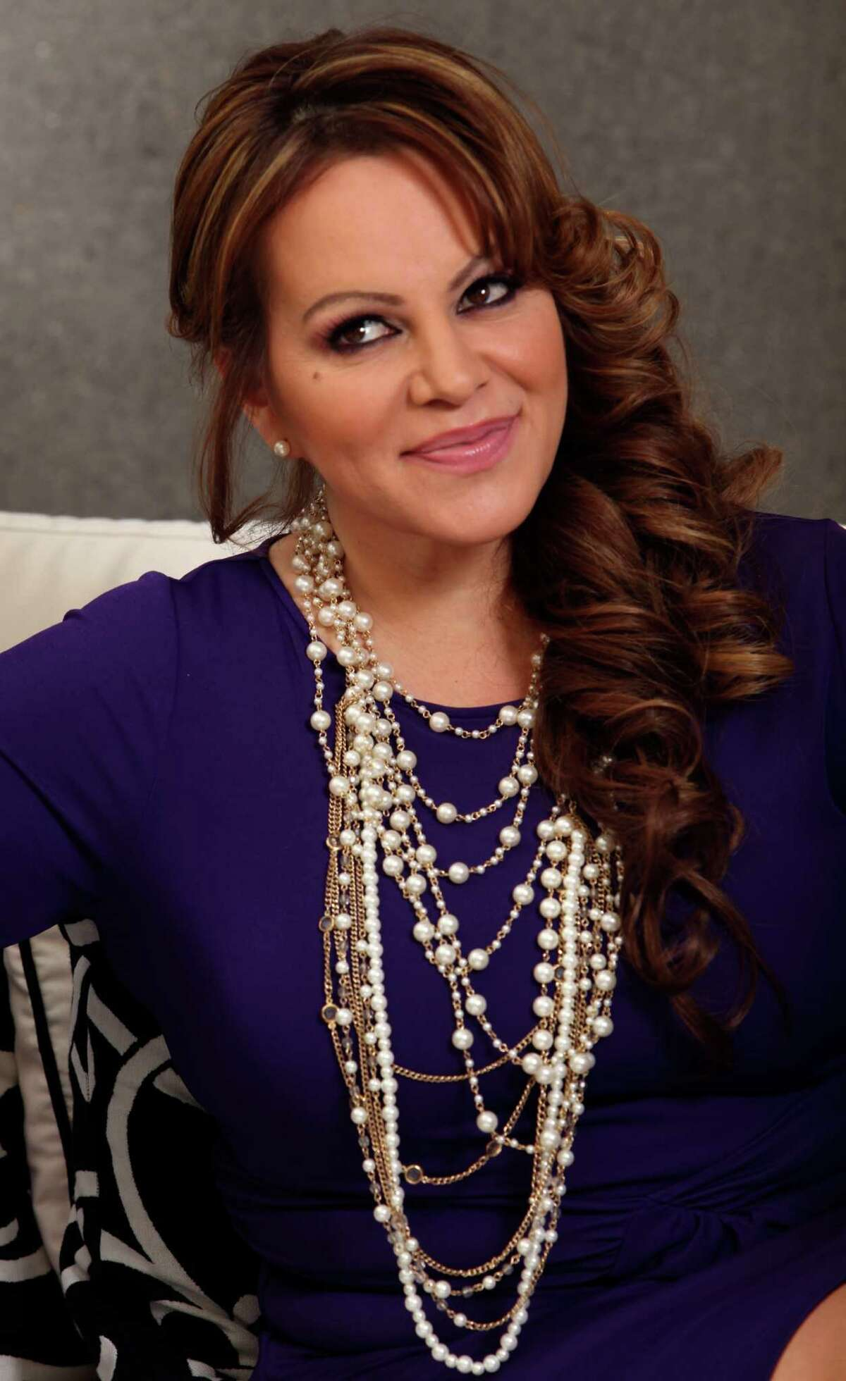 In this picture taken March 8, 2012, Mexican-American singer and reality TV star Jenni Rivera poses during an interview in Los Angeles. The wreckage of a small plane believed to be carrying Mexican-American music superstar Jenni Rivera was found in northern Mexico on Sunday, Dec. 9, 2012, and there are no apparent survivors, authorities said.