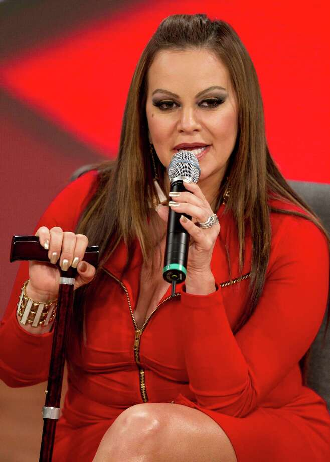 "In this Aug. 21, 2012, file photo, singer and singing coach Jenni Rivera speaks during a press conference promoting the second season of reality show, ""La Voz Mexico"" in Mexico City. Photo: Eduardo Verdugo, Associated Press / AP"