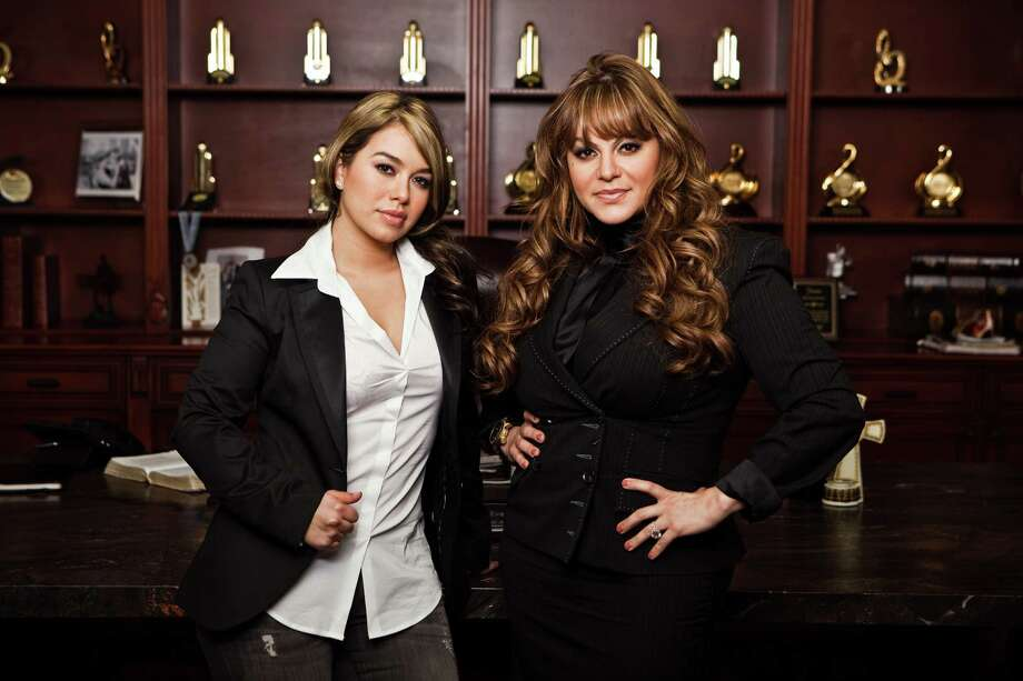 Jenni Rivera (right) stands with daughter Janney Chiquis Marin, one of the co-stars of Jenni Rivera Presents Chiquis and Raq-C. Photo: Robson Muzel Photography / 2010 Robson Muzel Photography. All rights reserved
