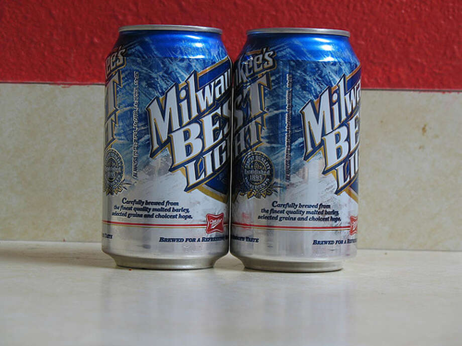 Milwaukee's Best Light: According to Yahoo Finance, the sales for the light beer have dropped 35.5 percent from 2006 to 2011. (Photo: Alexik, Flickr)
