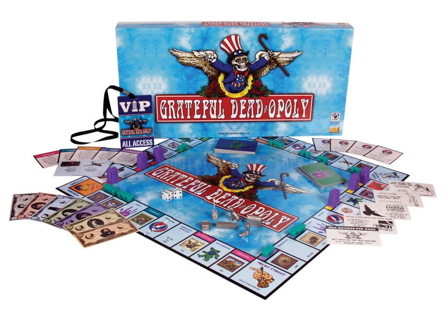 Grateful Dead-opoly. Because what band better represents unrepentant backstabbing and money grubbing? (Reveal Entertainment)