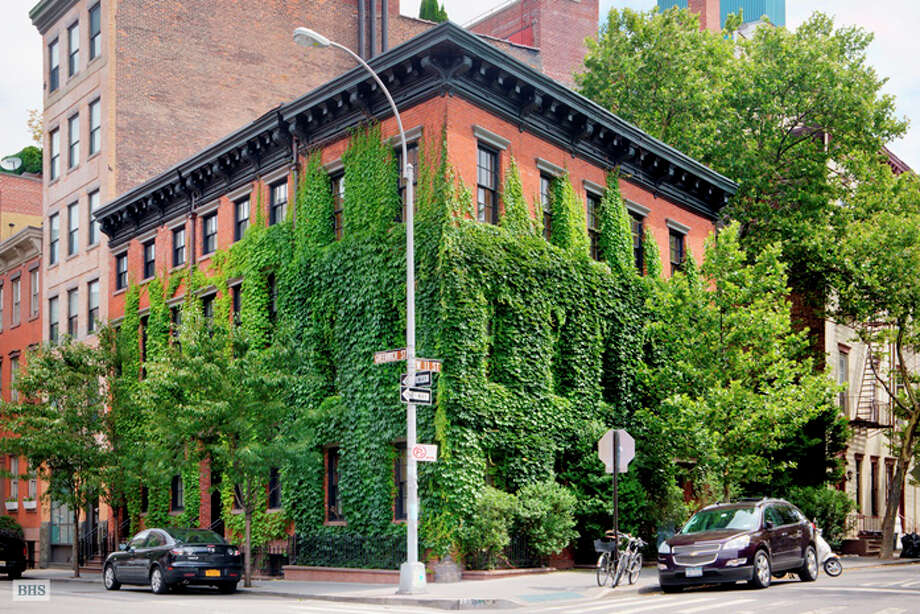 Leibovitz's Greek Revival compound in the West Village