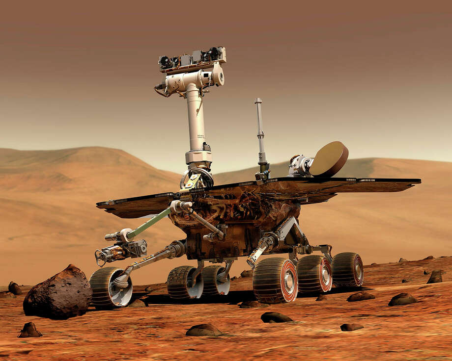 Mars Rover Photo: Anonymous, Associated Press / AP2003