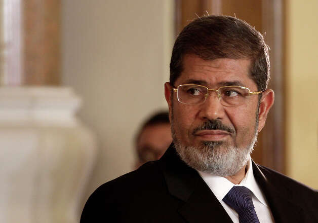 Egyptian President Mohammed Morsi Photo: Associated Press