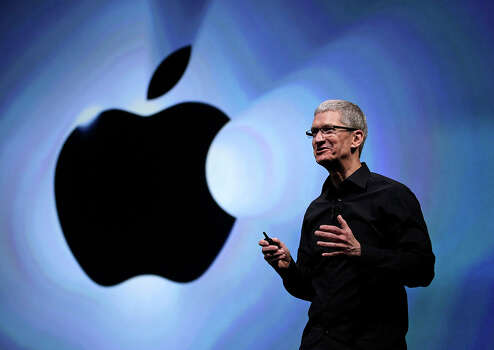 Time also considered: Apple CEO Tim Cook Photo: Associated Press