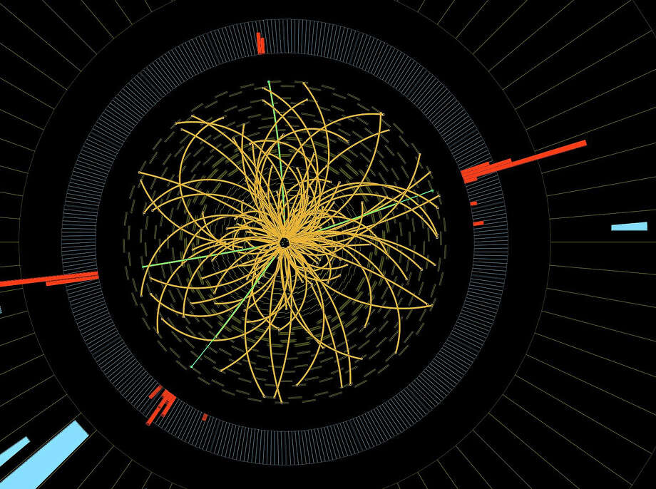 The Higgs Boson particle Photo: Associated Press