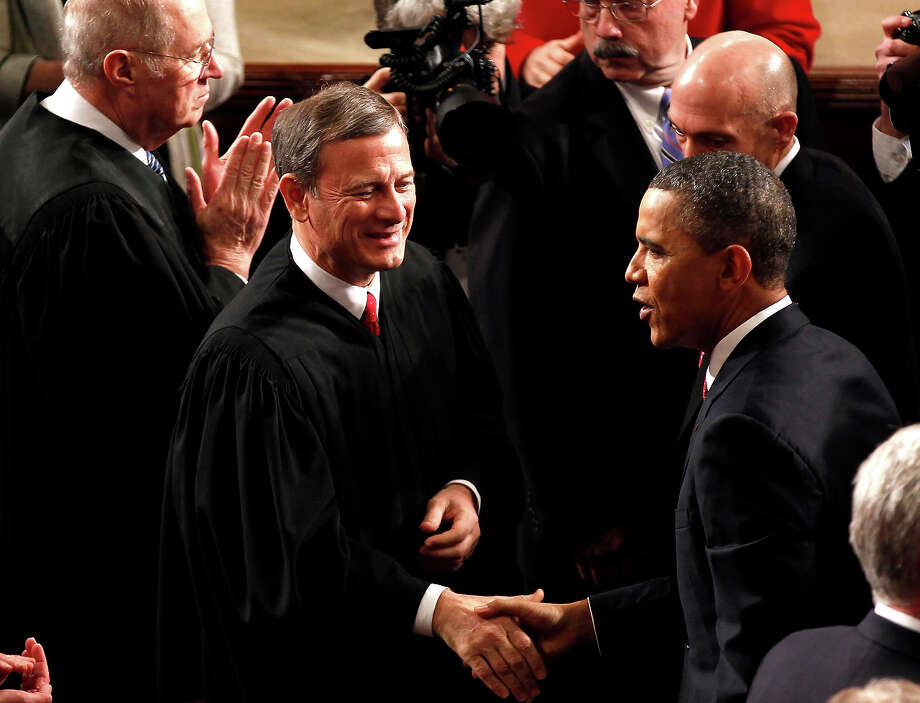 Supreme Court Chief Justice John Roberts Photo: Associated Press