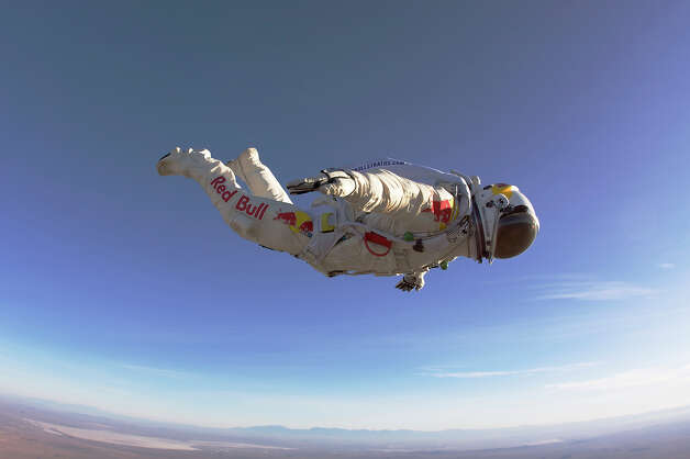 Dare devil Felix Baumgartner Photo: Associated Press