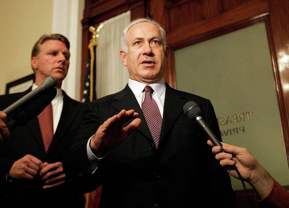 Israeli Prime Minister Benjamin Netanyahu Photo: Chitose Suzuki, Associated Press / AP2007