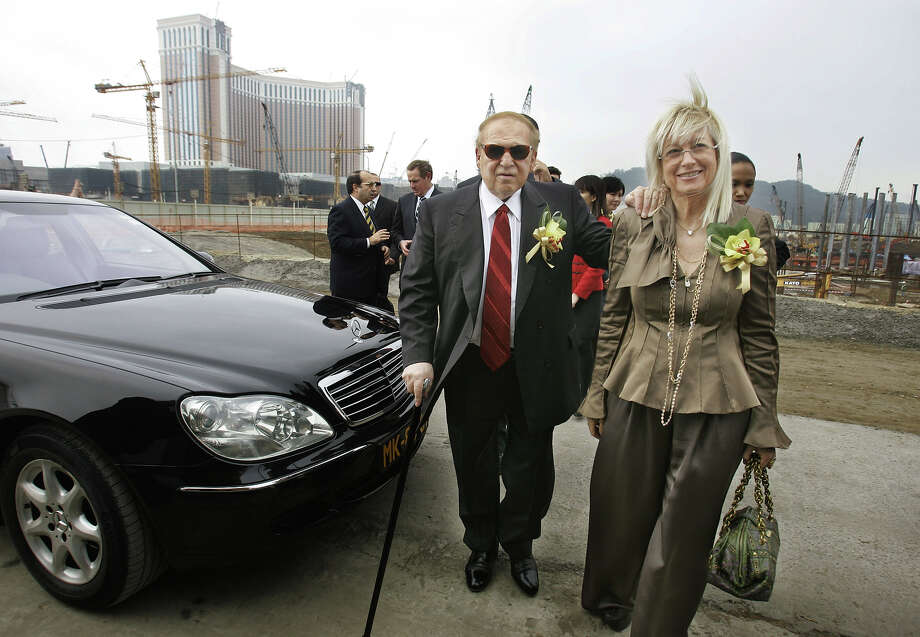 Sheldon Adelson  chairman and Chief executive officer of Las Vegas Sands Corp Photo: Kin Cheung, Associated Press / AP2007