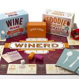 "Game on! Foodies, wine nerds and others epicurean – Home picklers, amateur butchers, cakewreck.com fans, we know who you are! – can now compete between courses at holiday feasts for bragging rights with ""Wine Wars,"" ""Foodie Fight Rematch"" and ""Winerd."" ($22.95 to $35, www.chroniclebooks.com). Everyone else can hang out in the kitchen and gossip."