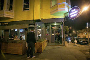 The exterior of Corner Store restaurant in San Francisco, Calif., is seen on Tuesday, December 4th, 2012.