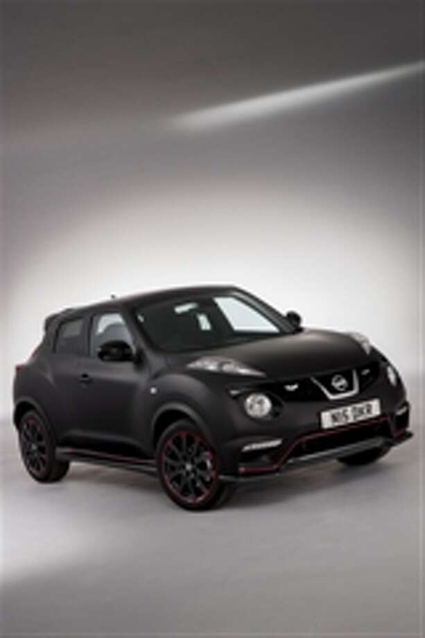 Nissan designers used The Dark Knight Rises as inspiration for a special Juke Nismo. The company is giving the car away as part of a promotion. Photo: Nissan Motor Company