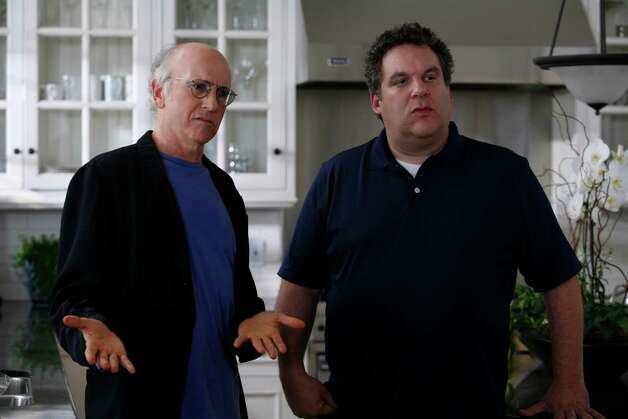 "Can't get enough: ""Curb Your Enthusiasm."" This show takes the cynical hilariousness of ""Seinfeld"" to a whole new level.  Photo: Claudette Barius, HBO / handout email"