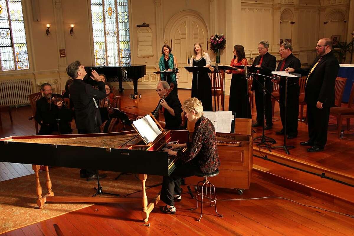 Artistic Director Warren Stewart leads members of Magnificat in Charpentier's