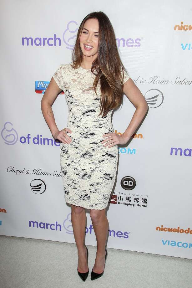 Megan Fox arrives at the March Of Dimes' Celebration Of Babies held at the Beverly Hills Hotel on December 7, 2012 in Beverly Hills, California. Photo: Paul A. Hebert, Getty Images / 2012 Getty Images