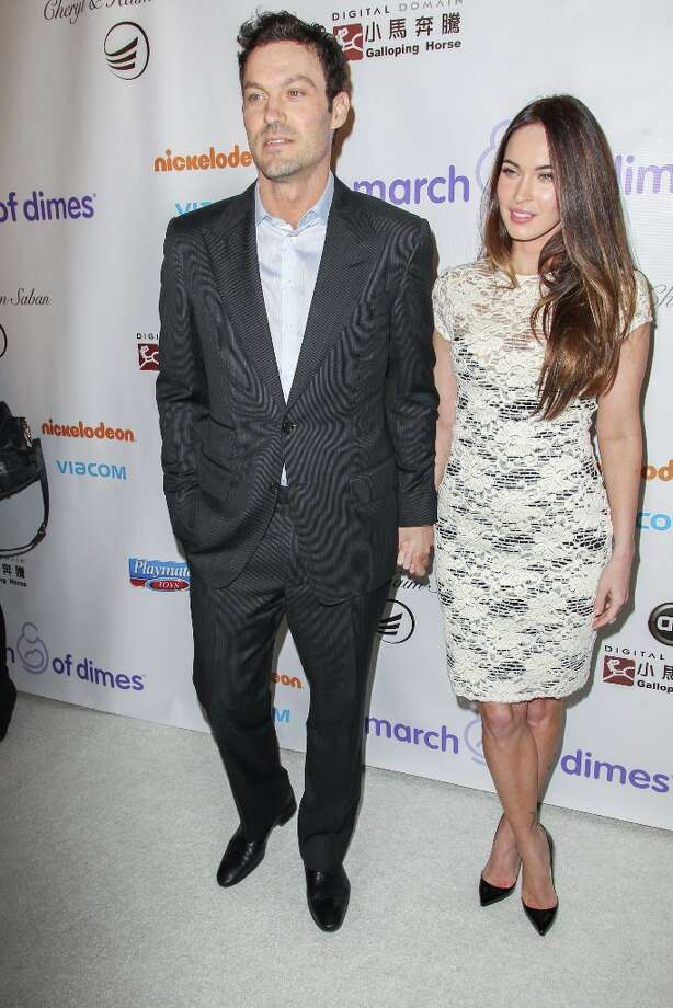 Megan Fox and Brian Austin Green arrive at the March Of Dimes' Celebration Of Babies held at the Beverly Hills Hotel on December 7, 2012 in Beverly Hills, California. Photo: Paul A. Hebert, Getty Images / 2012 Getty Images
