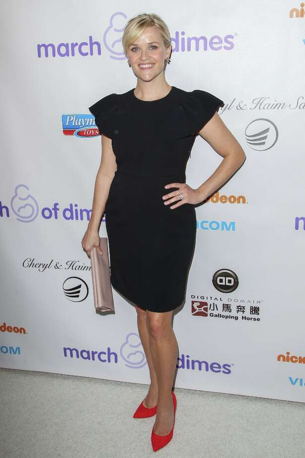 Reese Witherspoon arrives at the March Of Dimes' Celebration Of Babies held at the Beverly Hills Hotel on December 7, 2012 in Beverly Hills, California. Photo: Paul A. Hebert, Getty Images / 2012 Getty Images