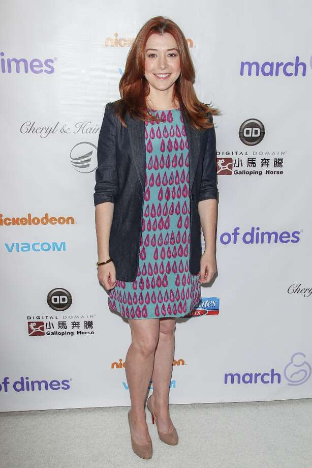 Alyson Hannigan arrives at the March Of Dimes' Celebration Of Babies held at the Beverly Hills Hotel on December 7, 2012 in Beverly Hills, California. Photo: Paul A. Hebert, Getty Images / 2012 Getty Images