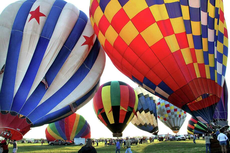 The Big Bend Balloon Bash draws hundreds of participants and spectators to Alpine each September. It is one of many tourist events that unfold around the region each year. Photo by Barbara Richerson, courtesy of visitalpinetx.com