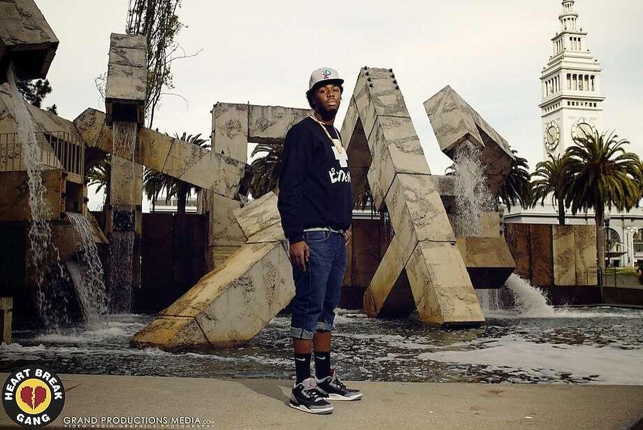 """IamSu recently released a """"$uzy 6 $peed"""" mixtape. Photo: Audible Treats"""