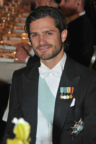 STOCKHOLM, SWEDEN - DECEMBER 10:  Prince Carl Philip of Sweden attends the Nobel Banquet after the 2012 Nobel Peace Prize Ceremony at Town Hall on December 10, 2012 in Stockholm, Sweden. The European Union has collected this year's prestigious Nobel Peace Prize for uniting the continent after two World Wars, during a ceremony held in Oslo, Norway. Photo: Pascal Le Segretain, Getty Images