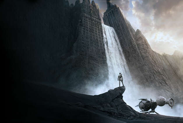 Two movies coming out next year will give us yet another vision of post-apocalyptic Earth. First is Oblivion, set for release in April, in which Tom Cruise plays one of the last few drone repairmen stationed on Earth, part of a massive operation to extract vital resources from the scarred planet after decades of war with aliens. But the arrival of a beautiful stranger from a downed spacecraft triggers a chain of events that forces him to question everything he knows and puts the fate of humanity in his hands. Photo: Universal Pictures