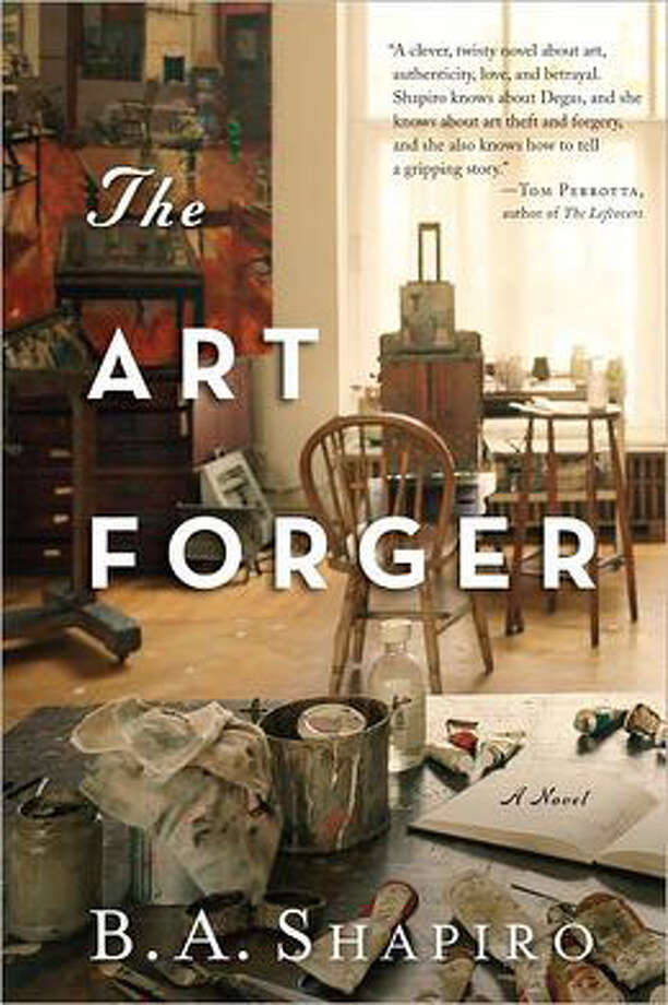 "There's something magnetic about heist stories, lost treasure and the lure of a secret find. B.A. Shapiro's paints a thriller about stolen art and masterful fakes in her debut novel ""The Art Forger,"" using one of the world's most notorious unsolved art crimes as a backdrop."