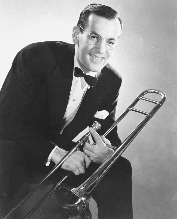 Dec. 15, 1944: Glenn Miller, the trombonist and leader of a hugely popular dance band, was killed when his plane disappeared between England and Paris while Miller was entertaining troops. Photo: AP / RCA VICTOR