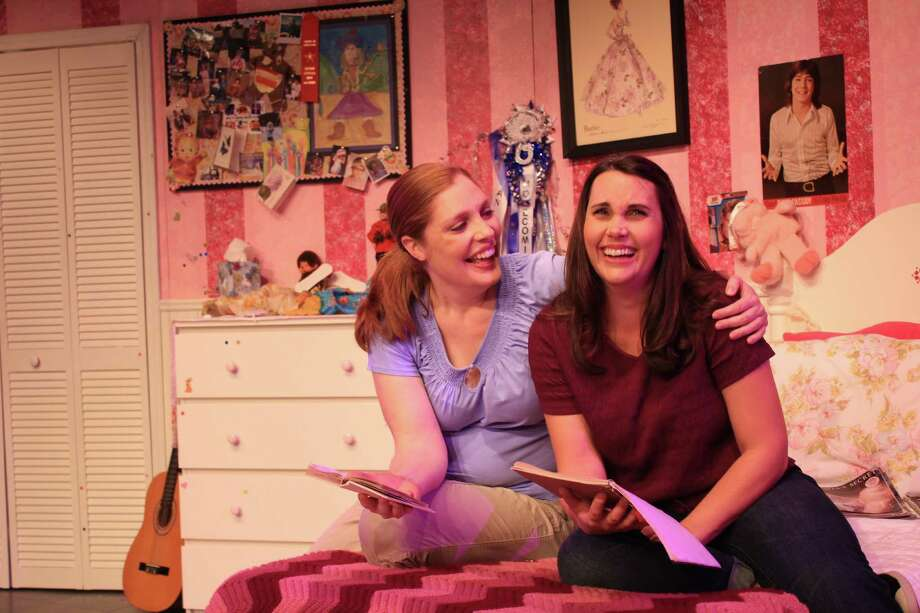 "Tracy Ahern, left, and Keri Henson dish on life as a tween in ""Girls Only - The Secret Comedy of Women."" Photo: Ricornelproductions.com"