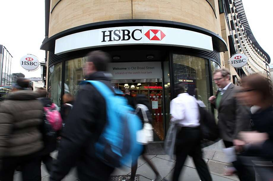 British banking giant HSBC agreed to a record $1.9 billion settlement over money laundering. Photo: Chris Ratcliffe, Bloomberg