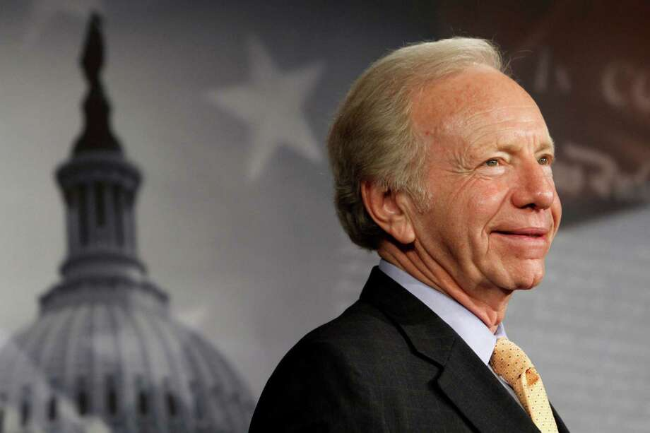 Sen. Joe Lieberman, I-Conn. smiles during a news conference on Capitol Hill in Washington, Tuesday, Jan. 31, 2012. Lieberman is retiring from the Senate at the end of the current session. (AP Photo/Jacquelyn Martin) Photo: Jacquelyn Martin, Associated Press / AP