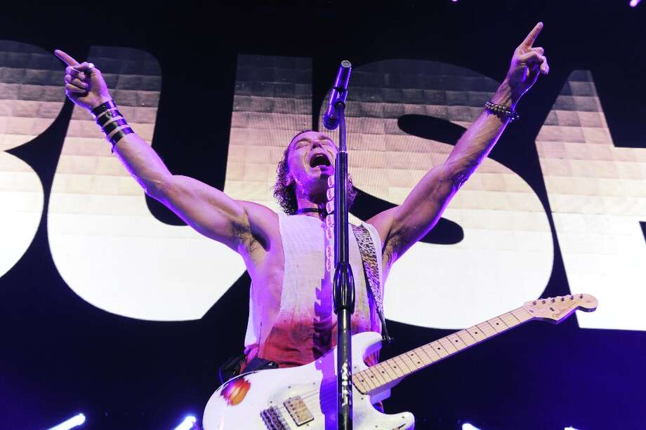 Gavin Rossdale of Bush performs at KROQ Almost Acoustic Christmas on Saturday, Dec. 8, 2012, in Los Angeles.  (Katy Winn/Invision/AP) Photo: Katy Winn, Associated Press / Invision