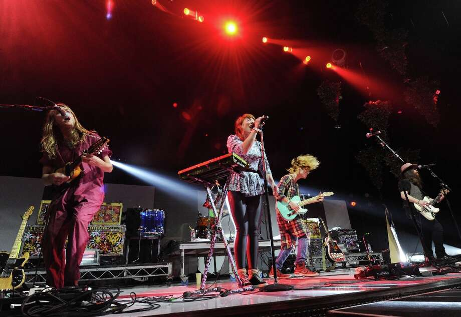 Goruplove performs at KROQ Almost Acoustic Christmas on Sunday, Dec. 9, 2012, in Los Angeles. Photo: Katy Winn, Katy Winn/Invision/AP / Invision2012