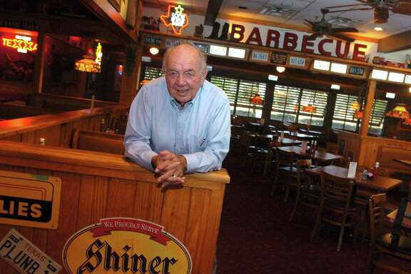 Felix Stehling says he's rich after a career spent creating many local restaurants and bars, including the Taco Cabana chain. Now, the 79-year-old (who invented the beanburger back in 1952) is a co-owner of Tom's Ribs. Portrait of Stehling at 1604 Tom's Ribs location near Stone Oak. Tuesday August 8, 2006.