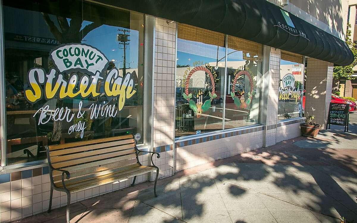 The exterior of Coconut Bay Street Cafe in Burlingame Calif., is seen on Thursday, November 29th, 20102