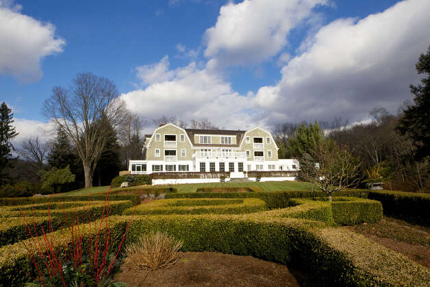The Mayflower Inn & Spa, which sits on 58 acres of land in Washington, Conn., was ranked eighth in Travel & Leisure magazineâÄôs âÄúWorldâÄôs Best Awards 2012: Top Inns in the Continental U.S.âÄù  In addition, The Forbes Travel Guide gave the Mayflower a five-star rating. Photo: Trish Haldin / The News-Times Freelance