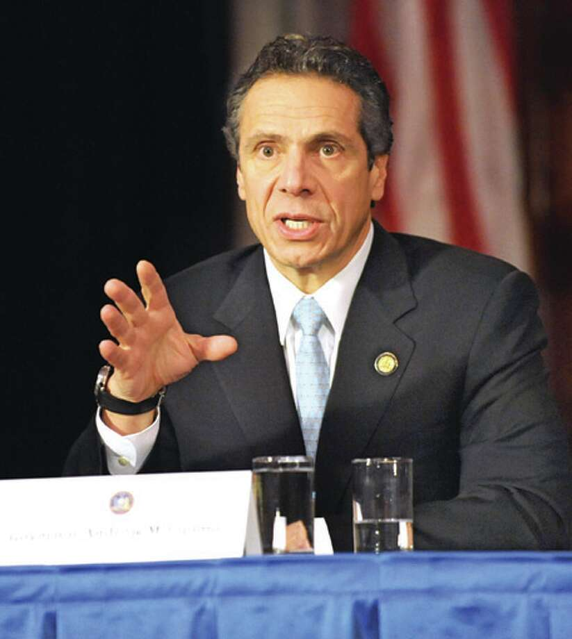 Governor Andrew Cuomo (Lori Van Buren / Times Union) Photo: Lori Van Buren / 00020363A