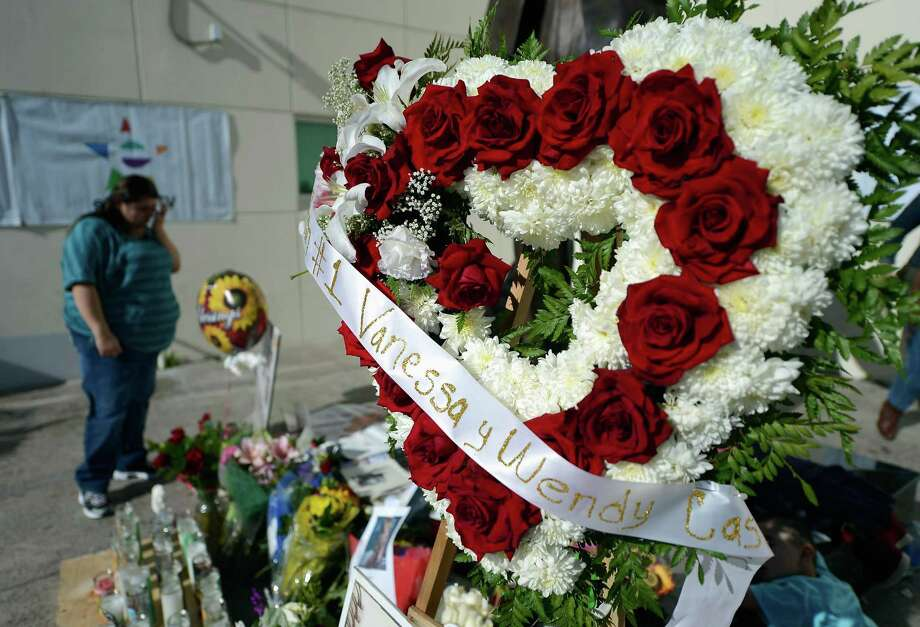 Items are displayed at a makeshift memorial for Mexican-American singer Jenni Rivera at a Mexican radio station that is playing her songs continuously all day on December 10, 2012 in Burbank, California. US authorities confirmed  that  Rivera, a U.S.-born singer, was killed in a plane crash in rugged territory in Nuevo Leon state in northern Mexico upon impact. Photo: Kevork Djansezian, Getty Images / 2012 Getty Images