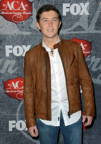 Singer Scotty McCreery arrives. Photo: Frazer Harrison, Getty Images / 2012 Getty Images