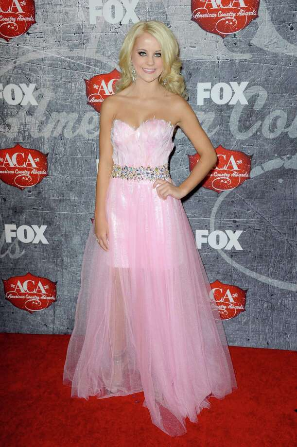 Singer Payton Rae arrives. Photo: Frazer Harrison, Getty Images / 2012 Getty Images