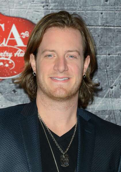 Singer Tyler Hubbard of Florida Georgia Line arrives.