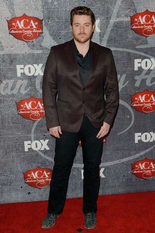 Singer Chris Young arrives. Photo: Frazer Harrison, Getty Images / 2012 Getty Images