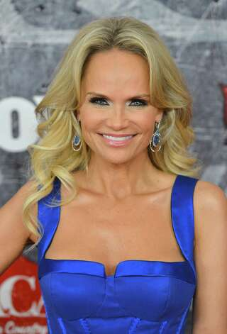 Co-host Kristin Chenoweth arrives. Photo: Frazer Harrison, Getty Images / 2012 Getty Images
