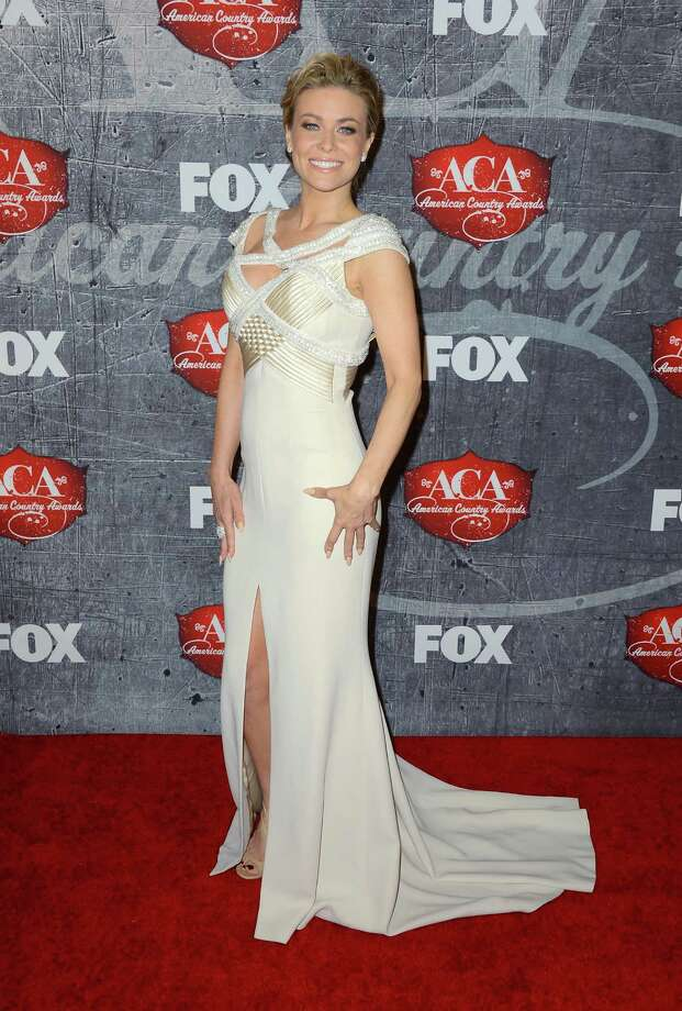 Model Carmen Electra arrives. Photo: Frazer Harrison, Getty Images / 2012 Getty Images